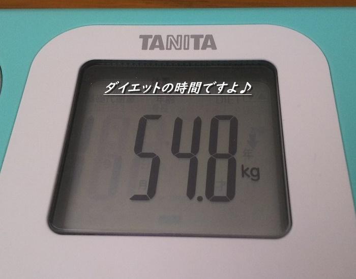54.8キロ